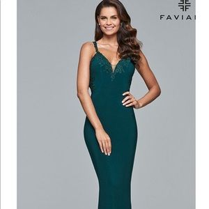 Fabiano Glamour Prom dress Evergreen BRAND NEW!